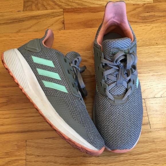 Girls 3 Adidas Duramo 9 K Running Shoes